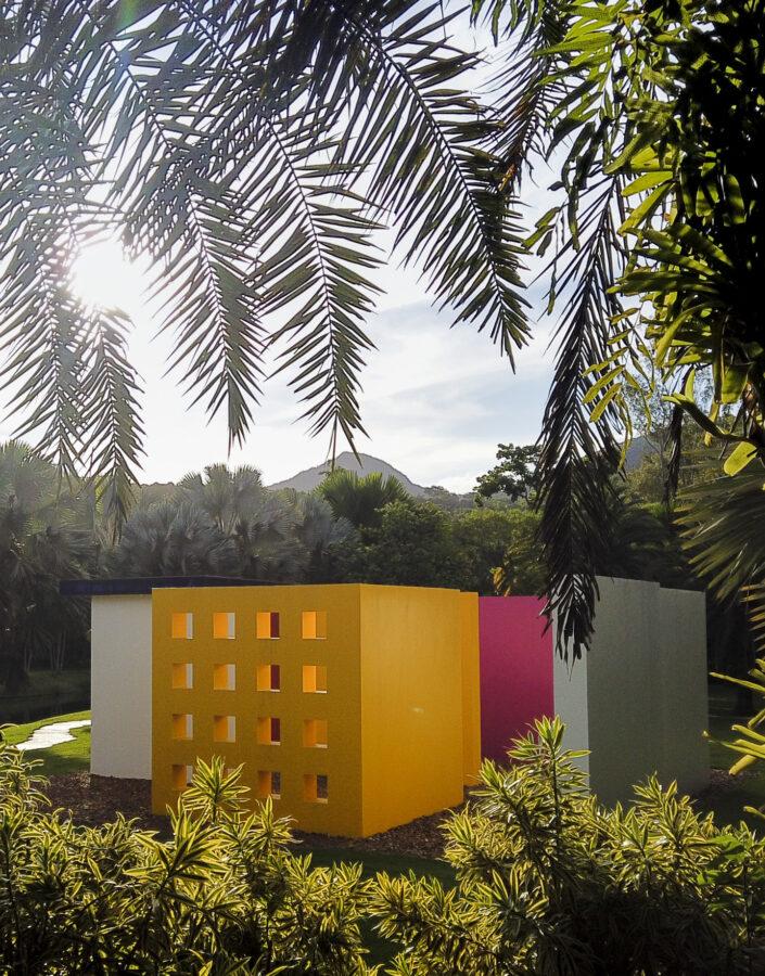 Magic Square de Hélio Oiticica acervo de arte contemporânea Inhotim