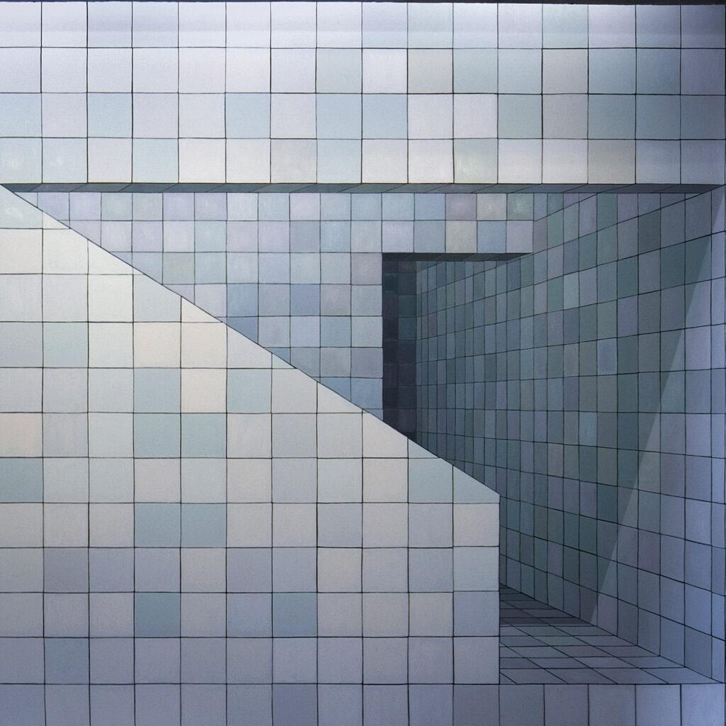 Obra  O Colecionador 2008, de Adriana Varejão. Acervo de arte contemporânea do Inhotim