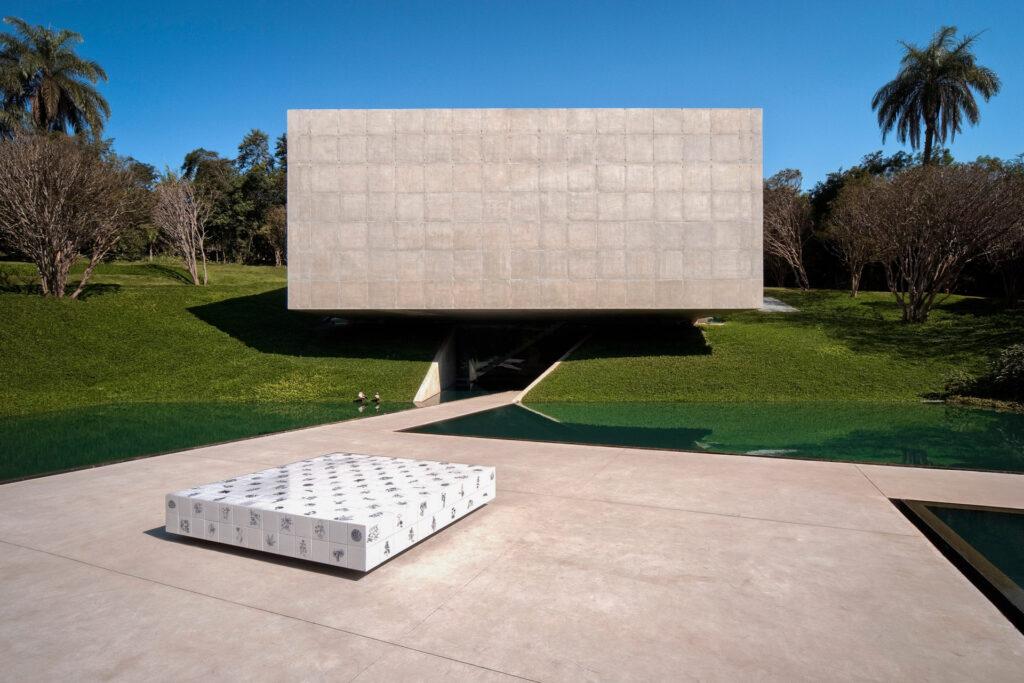 Galeria Adriana Varejão. Acervo de arte contemporânea do Inhotim