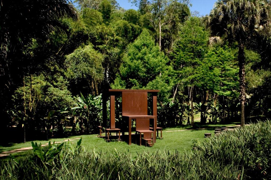 Obra Inmensa, 1982-2002, de Cildo Meireles. Acervo de arte contemporânea do Inhotim
