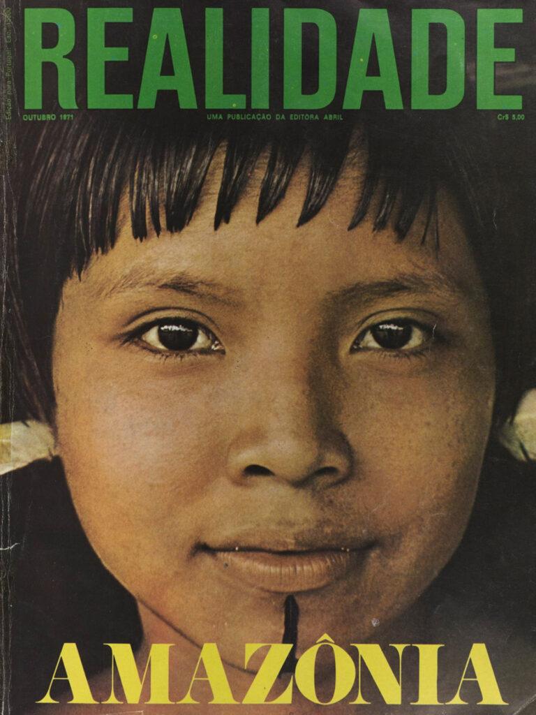 Revista Realidade, edição especial Amazônia. Editora Abril: outubro de 1971. Acervo arte contemporânea do Inhotim