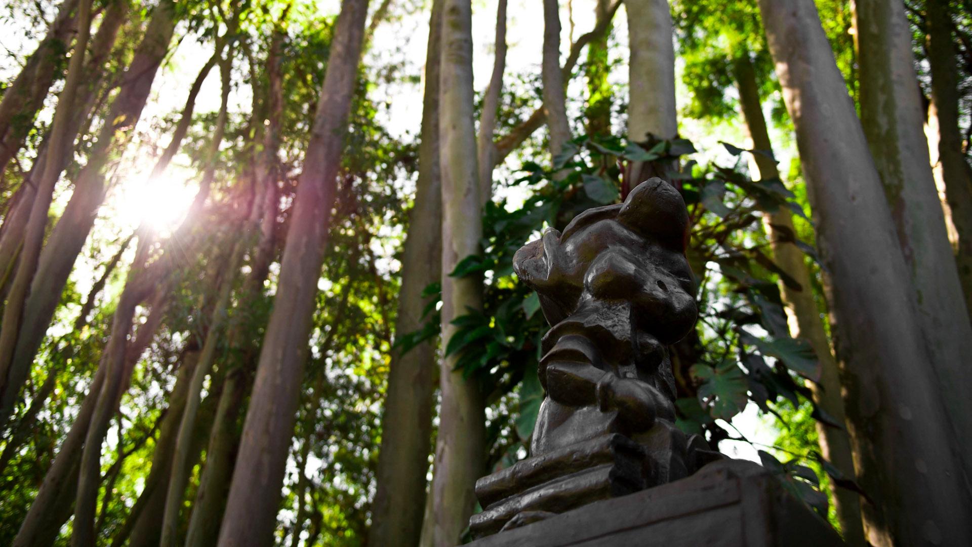 Pinocchio Block Head, 2001 de Paul McCarthy. Acervo de arte contemporânea Inhoti