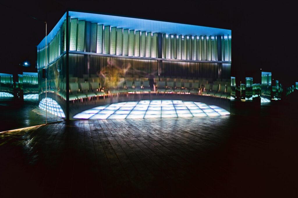 Obra Folly, 2005, de Valeska Soares. Galeria Valeska Soares Inhotim